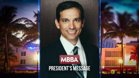 Message from the MBBA President