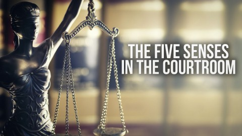 The Five Senses in the Courtroom presented by Miami-Dade Circuit Judge Spencer Eig.